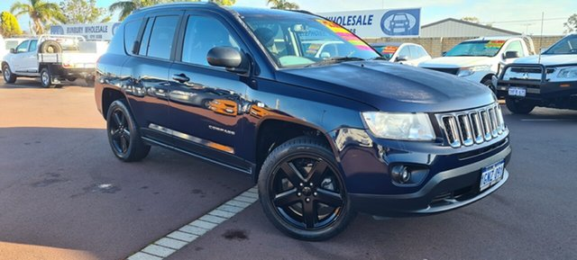 Used Jeep Compass MK MY13 Limited CVT Auto Stick East Bunbury, 2013 Jeep Compass MK MY13 Limited CVT Auto Stick 6 Speed Constant Variable Wagon