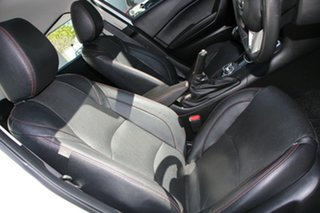 2016 Mazda 3 BM5236 SP25 SKYACTIV-MT White 6 Speed Manual Sedan
