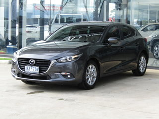 2017 Mazda 3 BN5478 Touring SKYACTIV-Drive Grey 6 Speed Sports Automatic Hatchback.