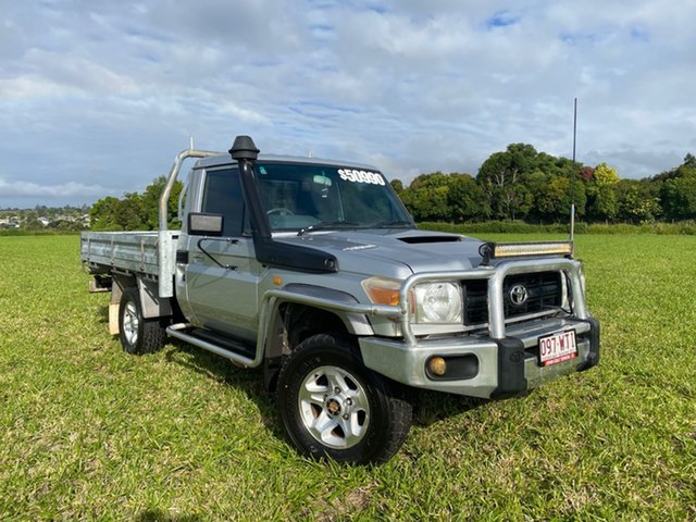 Pre-Owned Toyota Landcruiser VDJ79R GX (4x4) Atherton, 2007 Toyota Landcruiser VDJ79R GX (4x4) Silver Pearl 5 Speed Manual Cab Chassis