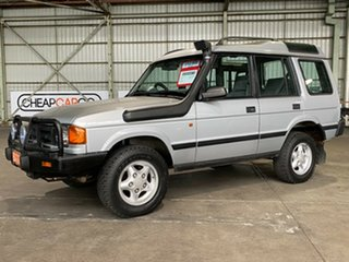 1996 Land Rover Discovery TDI Silver 5 Speed Manual Wagon.