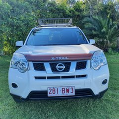2011 Nissan X-Trail T31 Series IV ST 2WD White 1 Speed Constant Variable Wagon.