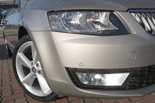 2014 Skoda Octavia NE MY14 Elegance Sedan DSG 103TSI Cappuccino Beige 7 Speed.