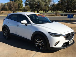 2015 Mazda CX-3 DK2W7A sTouring SKYACTIV-Drive Crystal White Pearl 6 Speed Sports Automatic Wagon.
