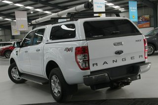 2017 Ford Ranger PX MkII MY17 XLT 3.2 (4x4) Frozen White 6 Speed Automatic Dual Cab Utility.
