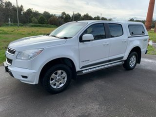 2016 Holden Colorado RG LS White Sports Automatic Utility.