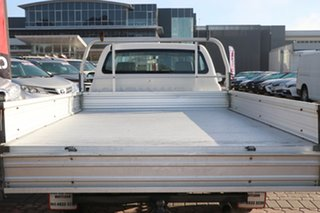 2006 Toyota Hilux TGN16R MY05 Workmate 4x2 White 5 Speed Manual Cab Chassis