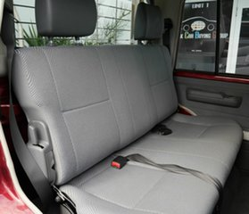 2016 Toyota Landcruiser VDJ79R GXL Double Cab Red 5 Speed Manual Cab Chassis