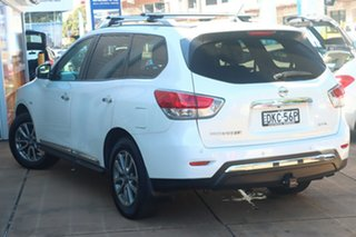 2016 Nissan Pathfinder R52 MY15 Upgrade ST-L (4x2) White Continuous Variable Wagon