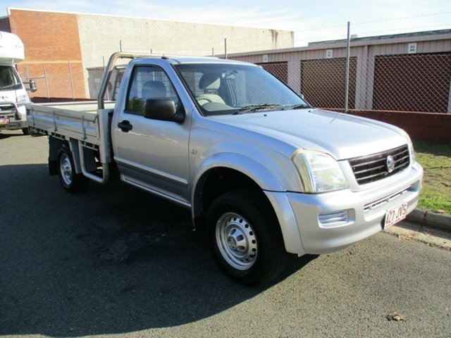 Used Holden Rodeo RA MY06 LX 4x2 Kippa-Ring, 2006 Holden Rodeo RA MY06 LX 4x2 Silver 5 Speed Manual Cab Chassis