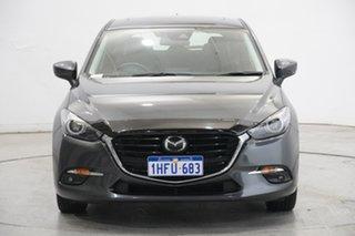 2016 Mazda 3 BN5436 SP25 SKYACTIV-MT Grey 6 Speed Manual Hatchback.