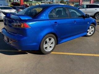 2013 Mitsubishi Lancer CJ MY14 ES Blue 5 Speed Manual Sedan.