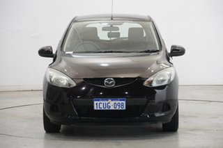 2008 Mazda 2 DE10Y1 Maxx Black 5 Speed Manual Hatchback.