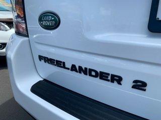 2013 Land Rover Freelander 2 LF MY13 Td4 SE White 6 Speed Sports Automatic Wagon
