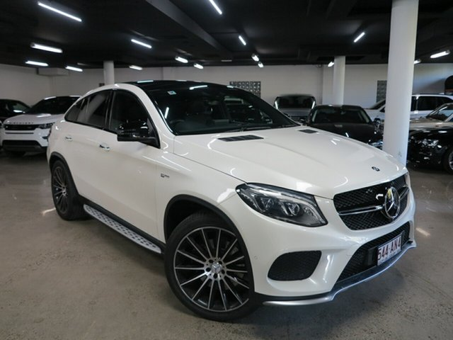 Used Mercedes-Benz GLE-Class C292 807MY GLE43 AMG Coupe 9G-Tronic 4MATIC Albion, 2016 Mercedes-Benz GLE-Class C292 807MY GLE43 AMG Coupe 9G-Tronic 4MATIC Diamond White 9 Speed