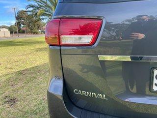 2017 Kia Carnival YP MY18 SLi Graphite 6 Speed Sports Automatic Wagon