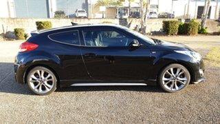 2015 Hyundai Veloster FS3 SR Turbo Black 6 Speed Automatic Coupe.