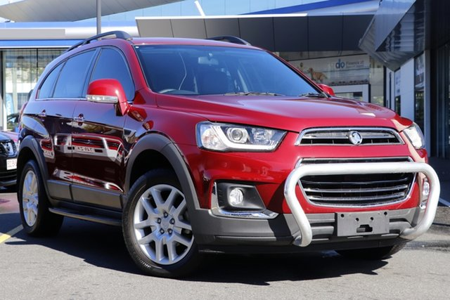 Used Holden Captiva CG MY17 Active 2WD Mount Gravatt, 2017 Holden Captiva CG MY17 Active 2WD Red 6 Speed Sports Automatic Wagon