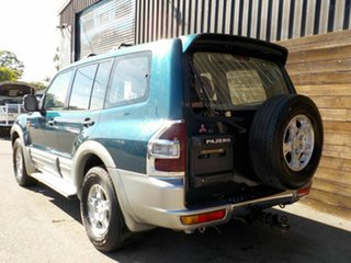 2000 Mitsubishi Pajero NM Exceed Green 5 Speed Sports Automatic Wagon
