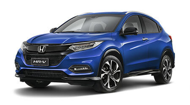 New Honda HR-V MY21 RS Hamilton, 2021 Honda HR-V MY21 RS Blue Metallic 1 Speed Constant Variable Hatchback