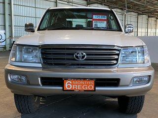 2005 Toyota Landcruiser UZJ100R GXL White 5 Speed Automatic Wagon
