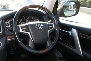 2019 Toyota Landcruiser VDJ200R Sahara Graphite 6 Speed Automatic Wagon
