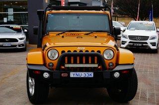 2013 Jeep Wrangler JK MY2013 Overland Gold 5 Speed Automatic Hardtop.