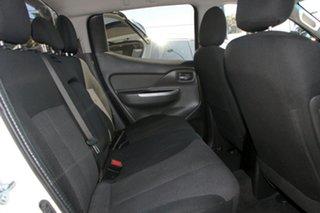 2016 Mitsubishi Triton MQ MY17 GLS Double Cab White 5 Speed Sports Automatic Utility