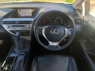 2012 Lexus RX GGL15R MY12 RX350 Luxury White 6 Speed Sports Automatic Wagon