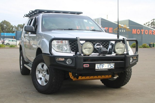 Used Nissan Pathfinder R51 ST (4x4) West Footscray, 2006 Nissan Pathfinder R51 ST (4x4) Silver 5 Speed Automatic Wagon