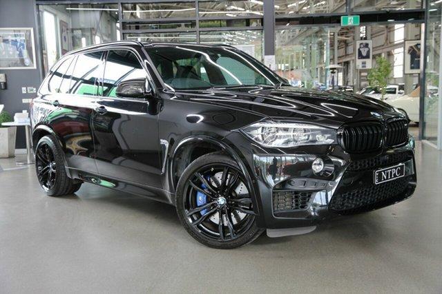 Used BMW X5 M F85 Steptronic North Melbourne, 2018 BMW X5 M F85 Steptronic Black 8 Speed Sports Automatic Wagon