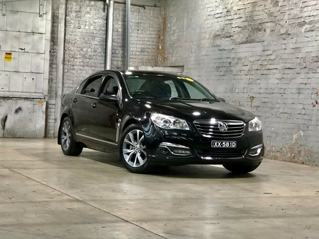 Used Holden Calais VF MY14 Mile End South, 2013 Holden Calais VF MY14 Black 6 Speed Sports Automatic Sedan