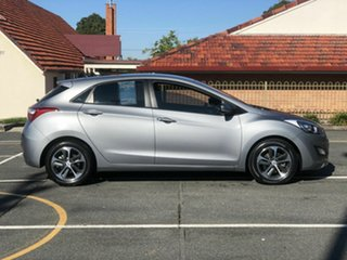 2015 Hyundai i30 GD4 Series II MY16 Active X Silver 6 Speed Sports Automatic Hatchback.