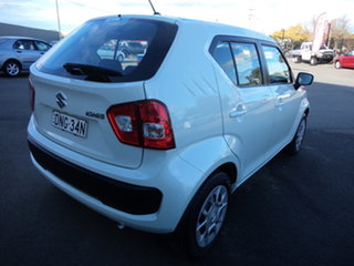 2016 Suzuki Ignis MF GL Cool White Continuous Variable Wagon