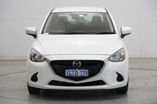 2016 Mazda 2 DL2SAA Neo SKYACTIV-Drive White 6 Speed Sports Automatic Sedan.