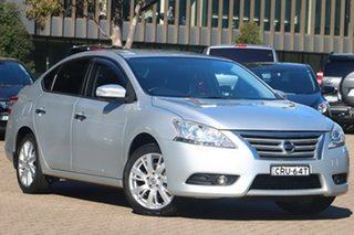 2013 Nissan Pulsar B17 TI Brilliant Silver Continuous Variable Sedan.