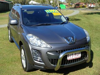 2011 Peugeot 4007 MY12 ST DCS Auto HDi Grey 6 Speed Sports Automatic Dual Clutch Wagon