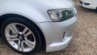 2010 Holden Commodore SV6 Silver 6 Speed Manual Utility.