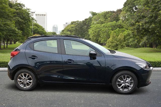 Demo Mazda 2 DJ2HAA G15 SKYACTIV-Drive Pure Paradise, 2021 Mazda 2 DJ2HAA G15 SKYACTIV-Drive Pure Deep Crystal Blue 6 Speed Sports Automatic Hatchback