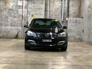 2013 Holden Calais VF MY14 Black 6 Speed Sports Automatic Sedan.