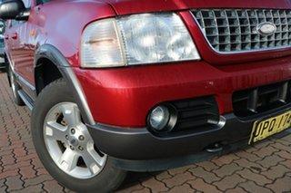 2003 Ford Explorer UZ XLT Burgundy 5 Speed Automatic SUV.