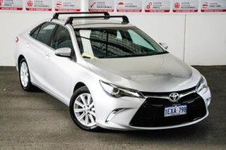 2015 Toyota Camry ASV50R MY15 Atara S Silver Pearl 6 Speed Automatic Sedan.