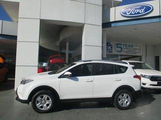 2014 Toyota RAV4 ASA44R GX (4x4) White 6 Speed Automatic Wagon.