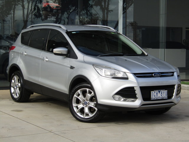 Used Ford Kuga TF Trend AWD Ravenhall, 2013 Ford Kuga TF Trend AWD Silver 6 Speed Sports Automatic Wagon
