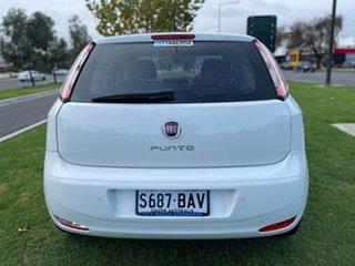 2013 Fiat Punto MY13 Easy Dualogic White 5 Speed Sports Automatic Single Clutch Hatchback