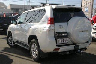 2012 Toyota Landcruiser Prado KDJ150R Kakadu White 5 Speed Sports Automatic Wagon.