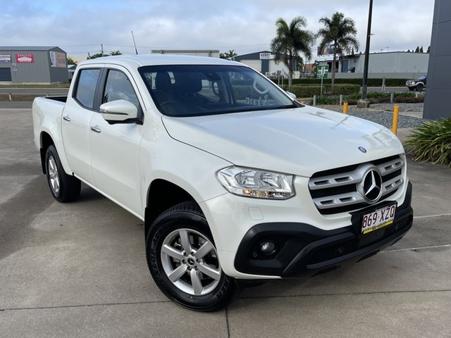 Used Mercedes-Benz X-Class 470 X250d 4MATIC Pure Townsville, 2017 Mercedes-Benz X-Class 470 X250d 4MATIC Pure White/130418 7 Speed Sports Automatic Utility