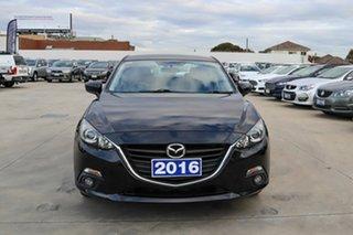 2016 Mazda 3 BM5236 SP25 SKYACTIV-MT Black 6 Speed Manual Sedan