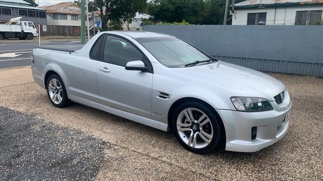 Used Holden Commodore SV6 Rockhampton, 2010 Holden Commodore SV6 Silver 6 Speed Manual Utility