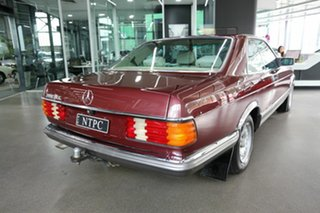 1985 Mercedes-Benz 380SEC C126 Maroon 4 Speed Automatic Coupe